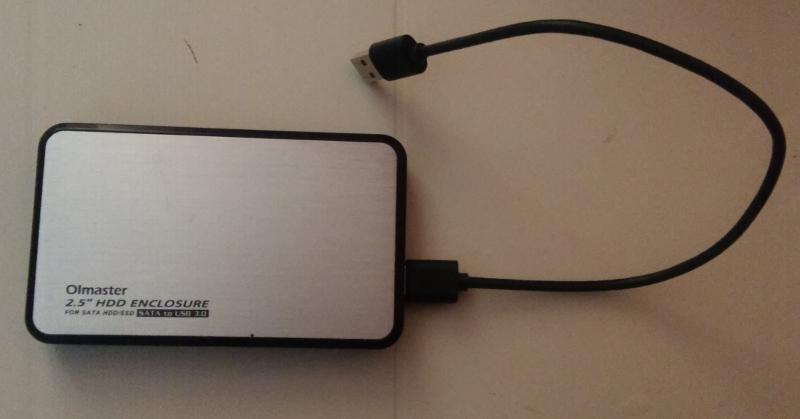 Boitier USB pour HDD ou SSD