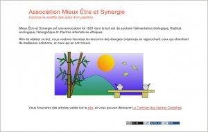 Mieux Être et Synergie Home page